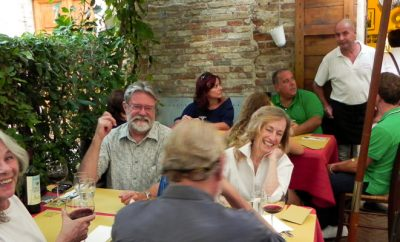 Bagno Vignoni restaurants and cafes
