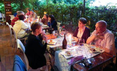 Trattoria Osenna restaurant San Quirico d'Orcia